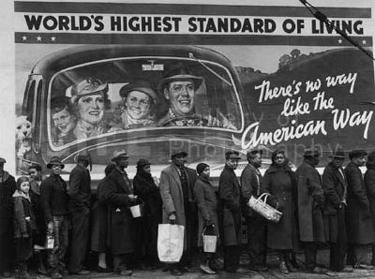 Margaret Bourke-White, At the Time of the Louisville Flood 1937, Silver Gelatin Print