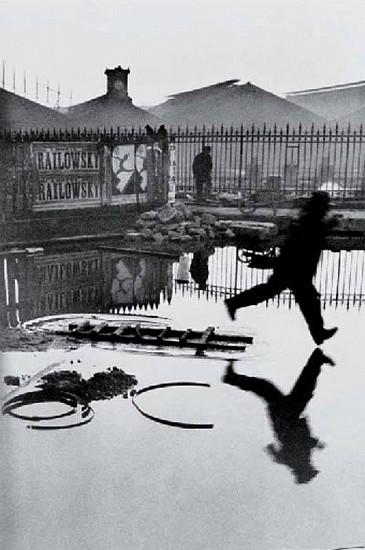 Henri Cartier-Bresson, Behind the Gare Saint-Lazare 1932, Silver Gelatin Print