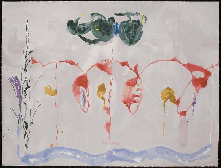 Helen Frankenthaler, Aerie 2009, Screenprint