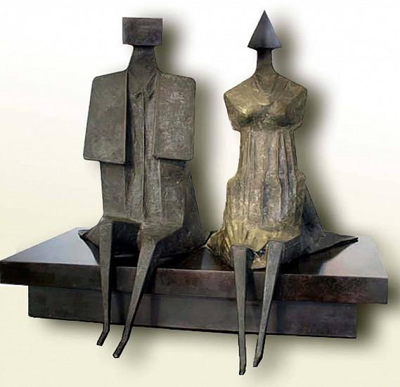 Lynn Chadwick, Back to Venice II 1988, Bronze Sculpture