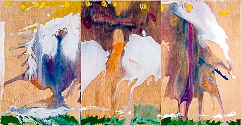 Helen Frankenthaler, Book of Clouds 2007, Aquatint, Etching, Woodcut & Pochoir with Hand Coloring