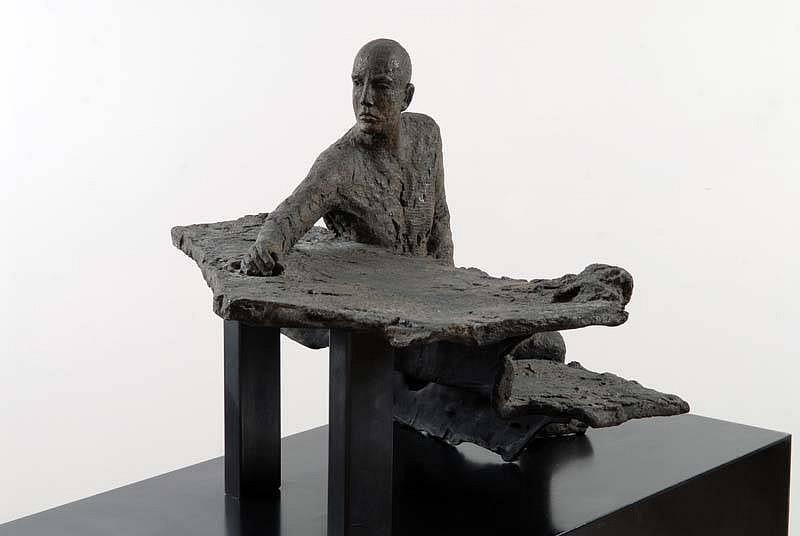 Hanneke Beaumont, Bronze #54 2000, Bronze Sculpture
