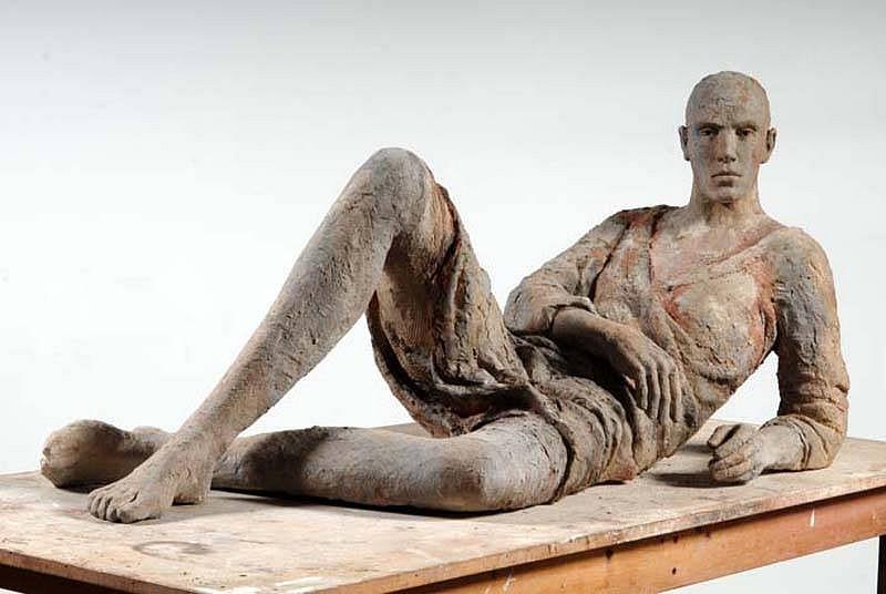 Hanneke Beaumont, Terracotta #82 (also available in bronze) 2006-2007, Terracotta/Bronze Sculpture