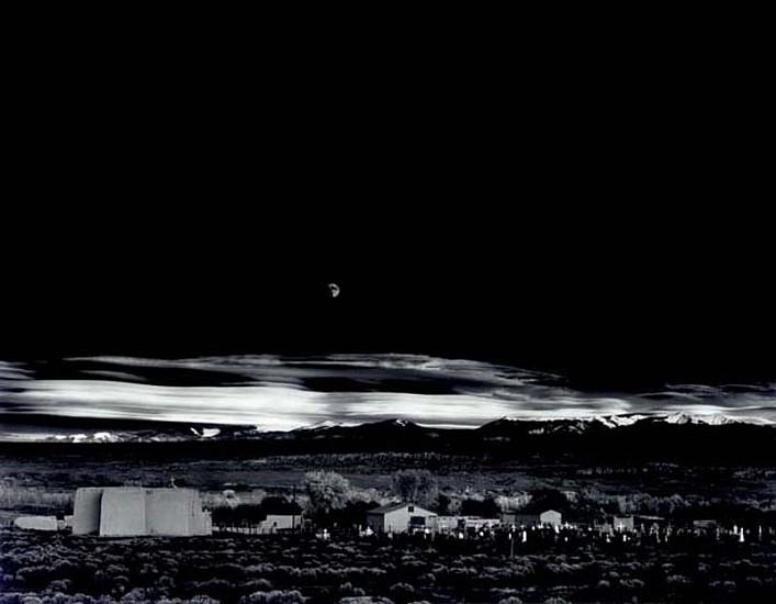 Ansel Adams, Moonrise, Hernandez, New Mexico 1941, Silver Gelatin Print