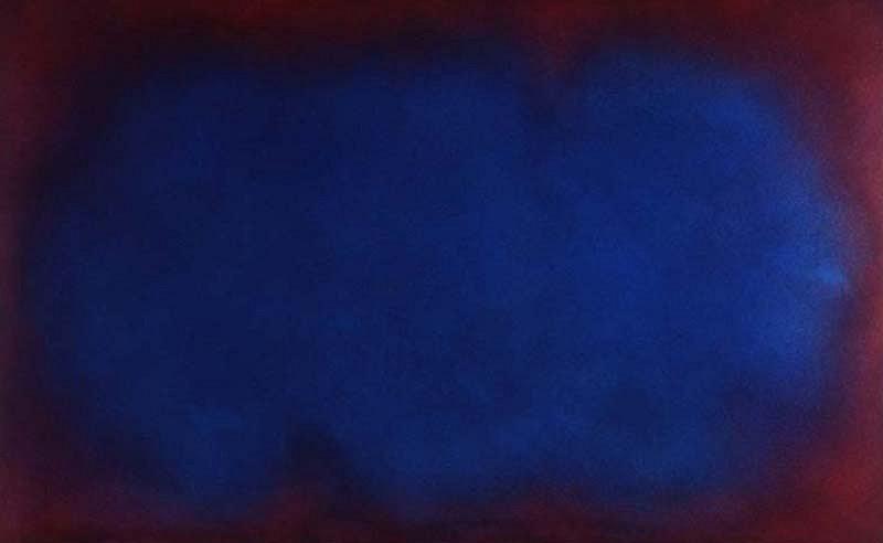 Natvar Bhavsar, SRAVANAA 2008, Acrylic, Dry Pigments and Acryloids on Canvas