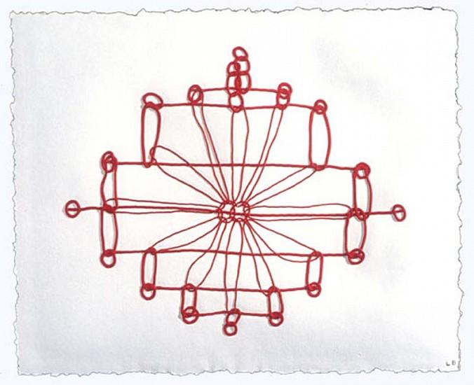 Louise Bourgeois, Crochet II 1998, Mixografia Print on Handmade Paper