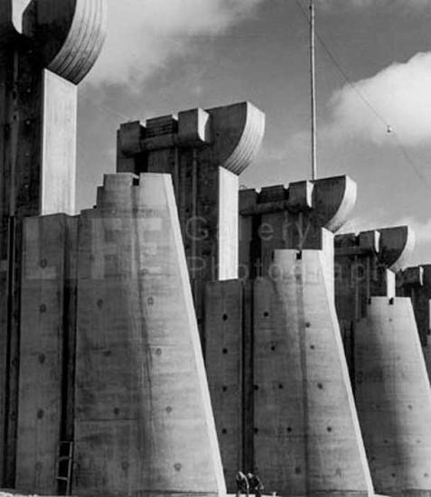 Margaret Bourke-White, Fort Peck Dam 1936, Silver Gelatin Print