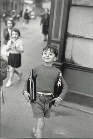Henri Cartier-Bresson, Rue Mouffetard 1954, Silver Gelatin Print