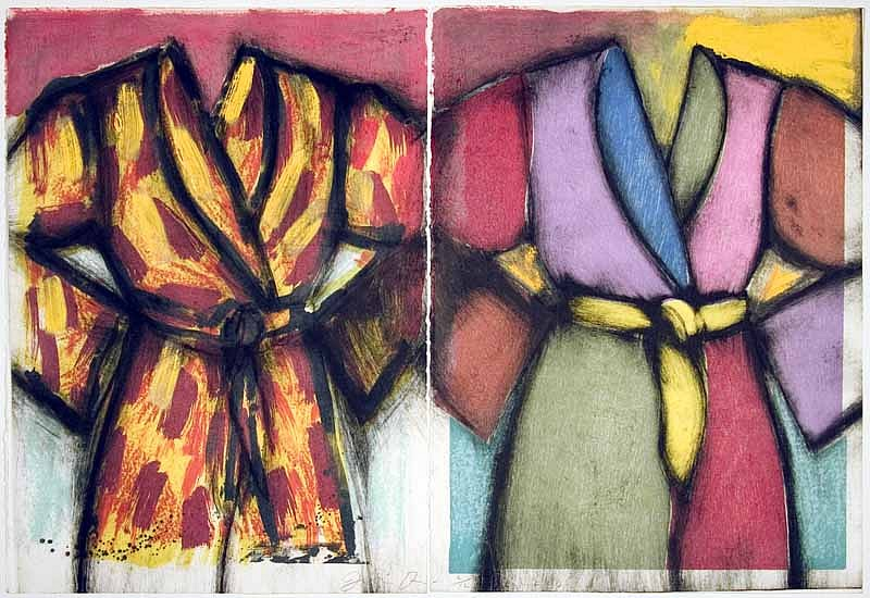 Jim Dine, Winter on the Cruise 2005, Lithograph and Woodcut with Hand Painting