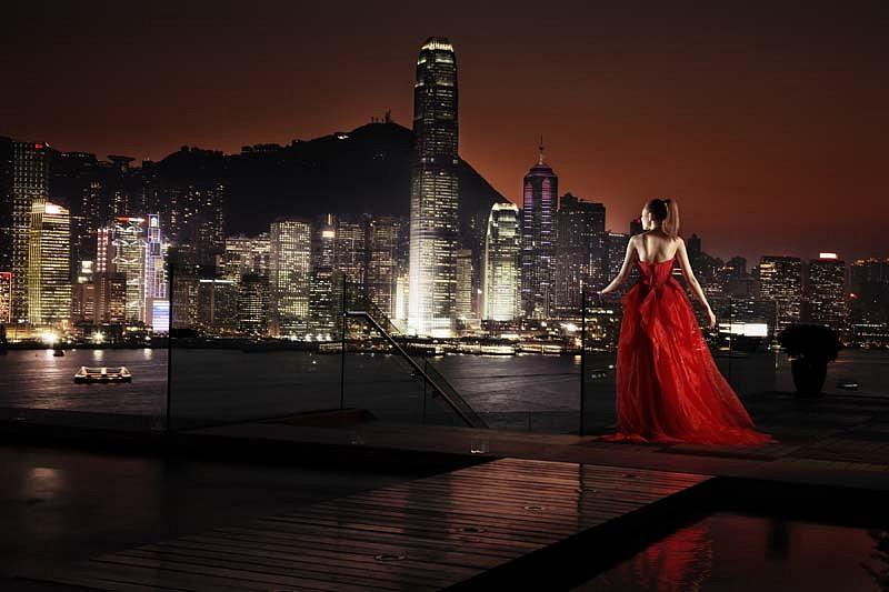 David Drebin, Girl in Hong Kong 2010, Digital C Print