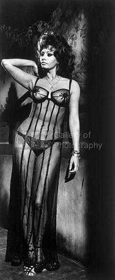 "Alfred Eisenstaedt, Sophia Loren in the Film ""Marriage Italian Style"", Rome, Italy 1966, Silver Gelatin Print"