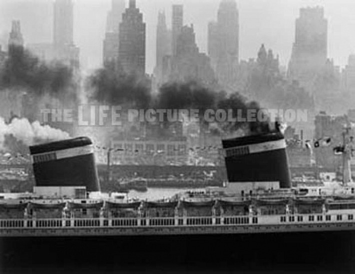 Andreas Feininger, S.S. United States 1952, Silver Gelatin Print