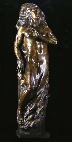 Frederick Hart, Adam (Full-Scale) 2001, Bronze Sculpture