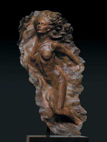Frederick Hart, Ex Nihilo, Figure No. 2, Full Scale 2008, Bronze Sculpture