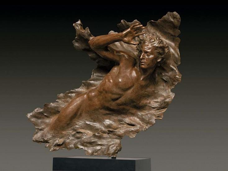 Frederick Hart, Ex Nihilo, Figure No. 3, Full Scale 2008, Bronze Sculpture