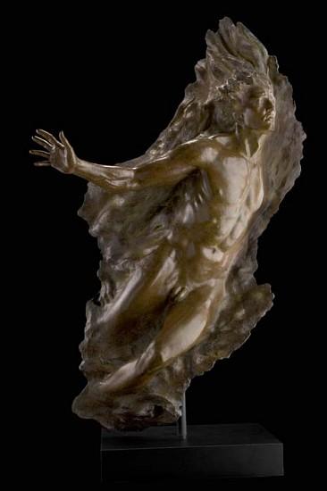 Frederick Hart, Ex Nihilo, Figure No. 5, Full Scale 2006, Bronze Sculpture