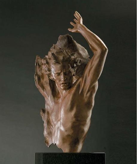 Frederick Hart, Ex Nihilo, Fragment No. 4, Full Scale 2009, Bronze Sculpture