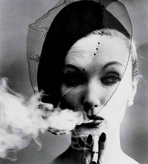 William Klein, Smoke and Veil, Paris (for Vogue) 1958, Silver Gelatin Print
