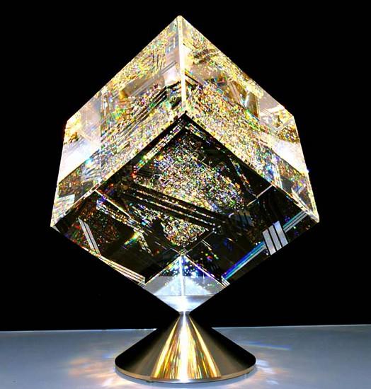 Jon Kuhn, Icy Entanglement Glass Sculpture