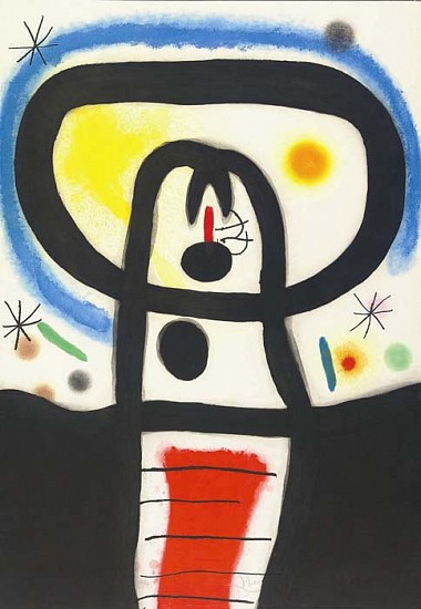 Joan Miró, Équinoxe, (D. 428) 1967, Etching and Aquatint with Carborundum Printed in Colors