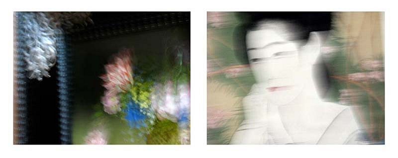 James L. Osher, Three Seconds with the Masters - Flowers, Japan 2009, Archival Print