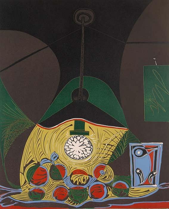 Pablo Picasso | Nature Morte Sous la Lampe | 1962 | Contessa Gallery