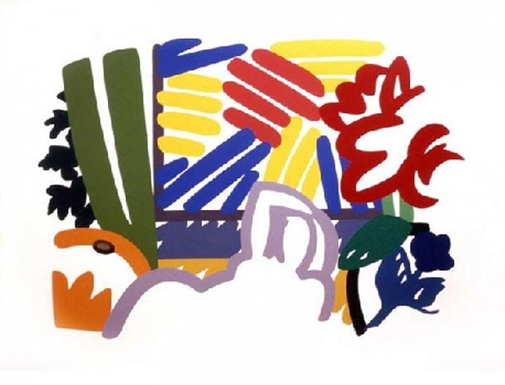 Tom Wesselmann, Still Life with Matisse and Johns 1993, Silkscreen
