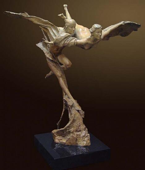 Nguyen Tuan, Synergy Bronze Sculpture
