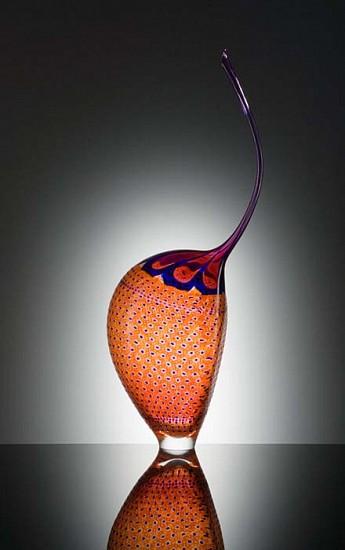 Stephen Rolfe Powell, Craning Solar Mania Glass Sculpture