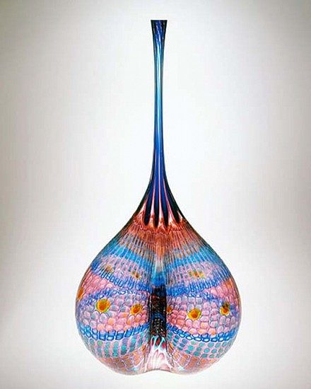 Stephen Rolfe Powell, Lurking Solar Cleavage Glass Sculpture