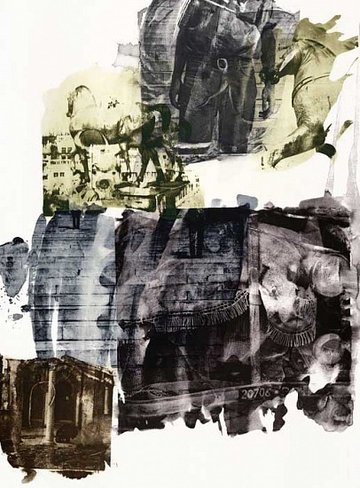 Robert Rauschenberg, Eagle Eye (Ruminations) 1999, Intaglio