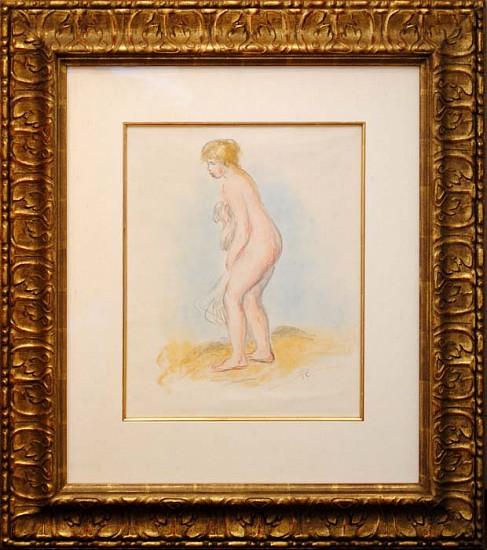 Pierre Auguste Renoir, Baigneuse Debout, En Pied ca, 1896, Lithograph in Colors