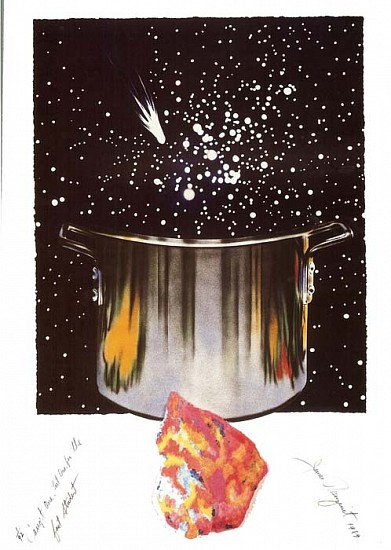 James Rosenquist, Caught One Lost One for the Fast Student or Star Catcher 1988 - 1989, Colored, Pressed Paper Pulp