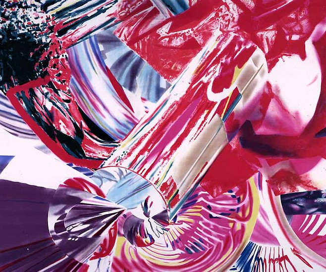 James Rosenquist, Hitchhiker - Speed of Light 1999, Lithograph