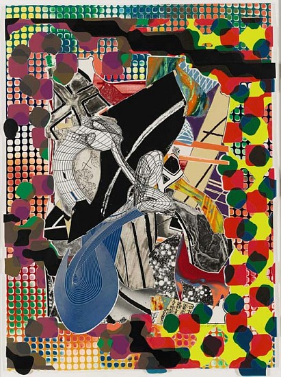Frank Stella, The Affidavit 1993, Lithograph, Etching, Aquatint, Relief and Screenprint in Colors