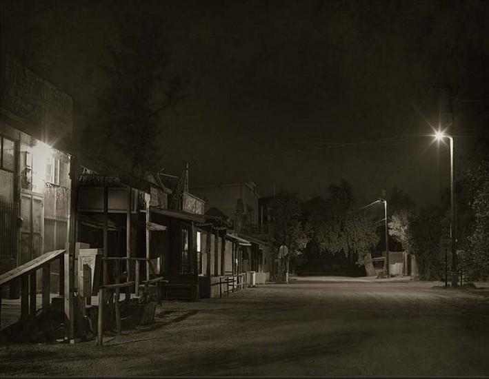 Jack Spencer, Cerillos Night, Cerillos, New Mexico 2007, Silver Gelatin Print