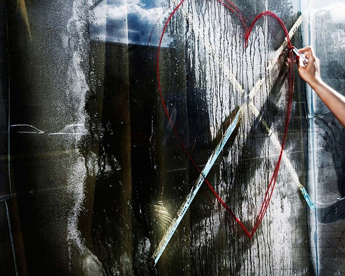 David Drebin, Dripping with Love 2010, Digital C Print