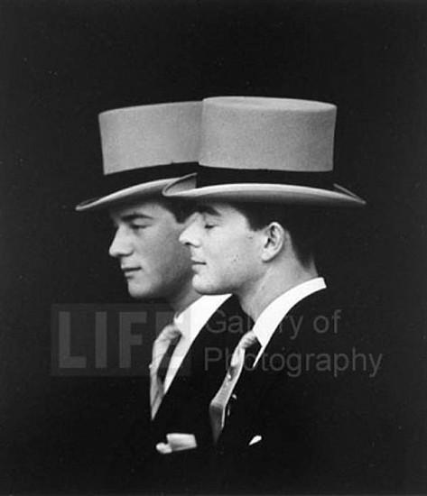 Loomis Dean, Anthony Armstrong-Jones' Half Brothers 1960, Silver Gelatin Print