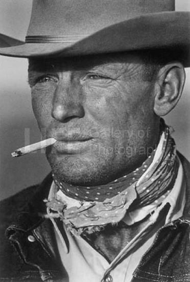 Leonard McCombe, Cowboy 1949, Silver Gelatin Print