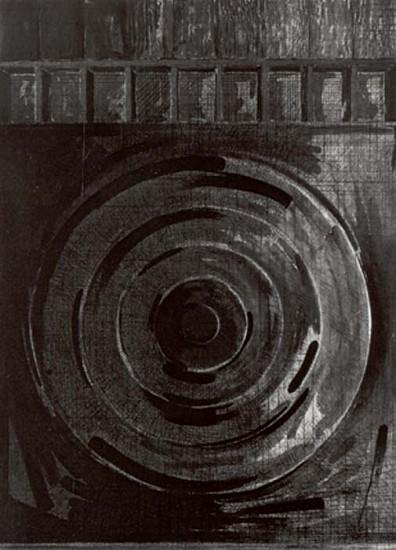 Jasper Johns, Target with Plaster Casts 1990