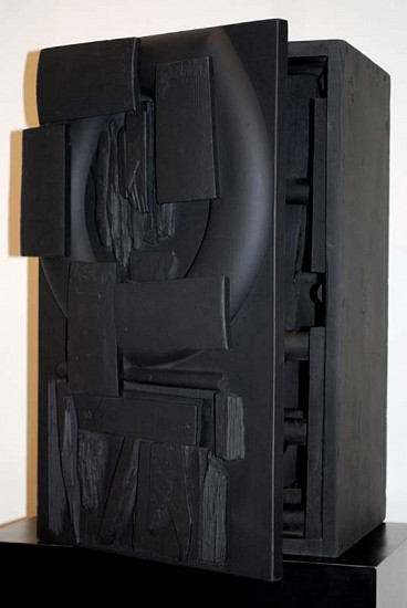 Louise Nevelson, Untitled 1959, Wood Painted Black