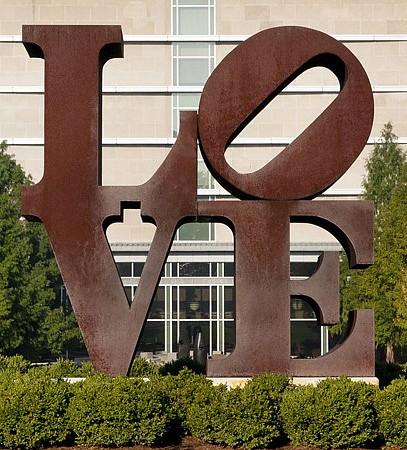 Robert Indiana, Love Indianapolis Museum of Art