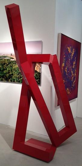 Jane Manus, Lissa 2012, Welded Aluminum Sculpture
