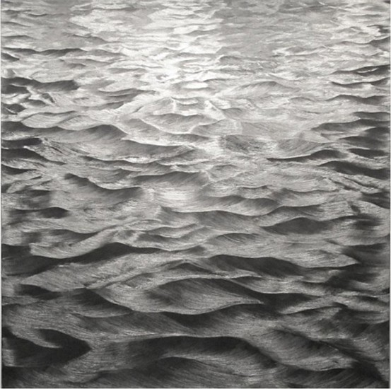 Karen Gunderson, Churning Sea - Imagine How 2012, Oil on linen