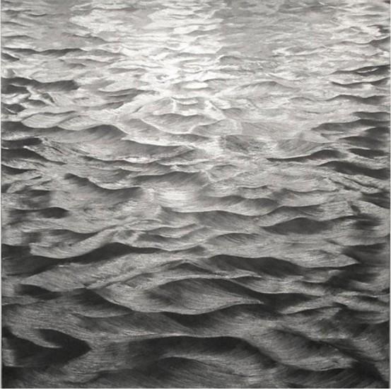 Karen Gunderson, Churning Sea - Imagine How 2012, Oil on linen