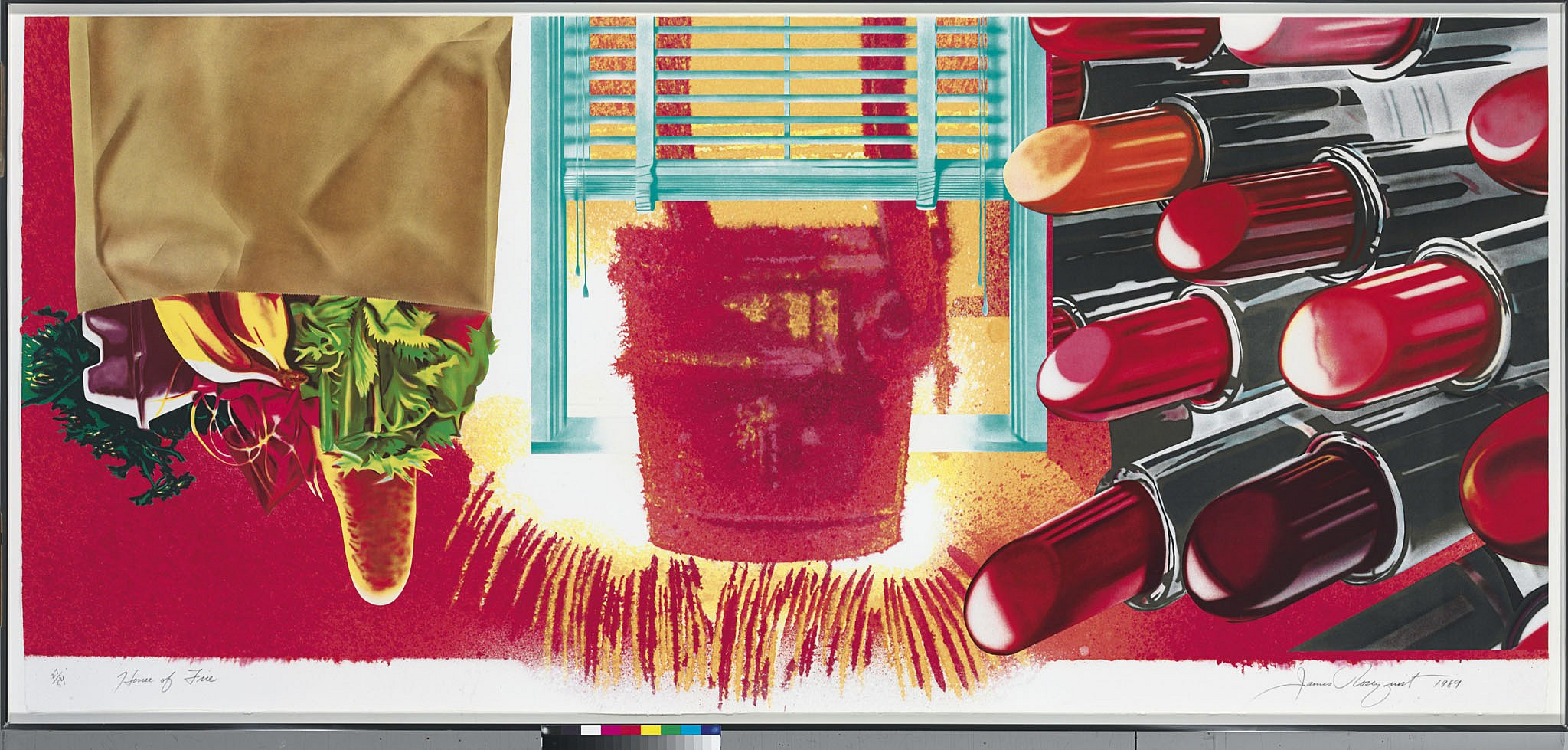 essay on james rosenquist Editor's note: the following essay was reprinted in resource library on  james  rosenquist quoted in painting, working, talking: michael.