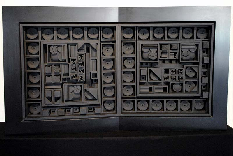 Louise Nevelson, City - Space - Scape V 1968, Painted Wood and Formica
