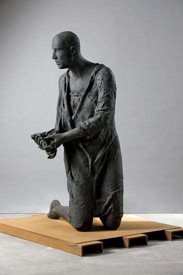 Hanneke Beaumont, Connected - Disconnected, Bronze #99 2009, Bronze Sculpture