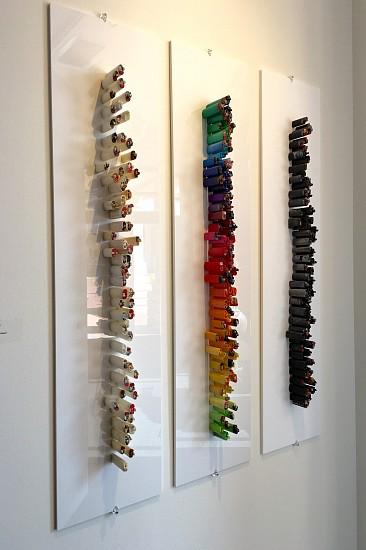 Gilles Cenazandotti, Briquets Triptych 2016