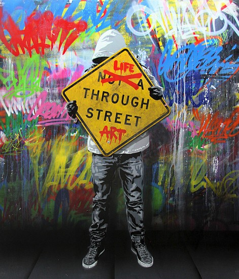 Hijack, Life Through Street Art 2017